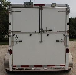 HORSES IN TRANSPORT Trailer Caution Sign Vinyl Decal Sticker E